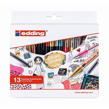 Edding Colouring 13 pcs Season Set