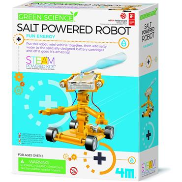 Green Science - Salt-Powered Robot