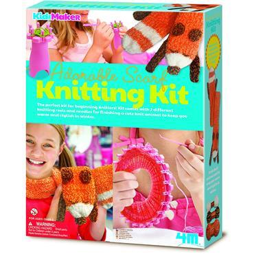 Adorable Scarf Knitting Kit