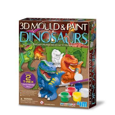 Mould & Paint - 3D Dinosaurs