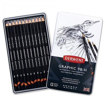 Derwent - Graphic Soft (Sketching Pencil - 12...