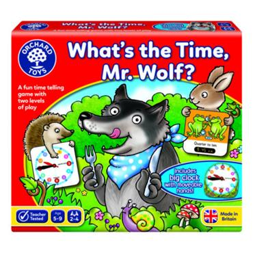 WHATS THE TIME MR. WOLF?