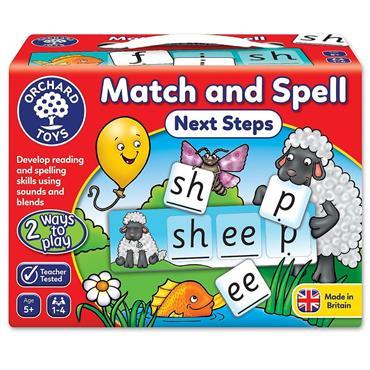 MATCH & SPELL - NEXT STEPS