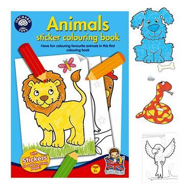 COLOURING BOOK - ANIMALS