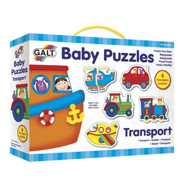 Baby Puzzles - Transport