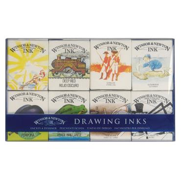 W&N - Drawing Ink - William Collection Set