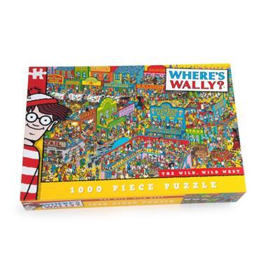 Wally Wild West1000pc