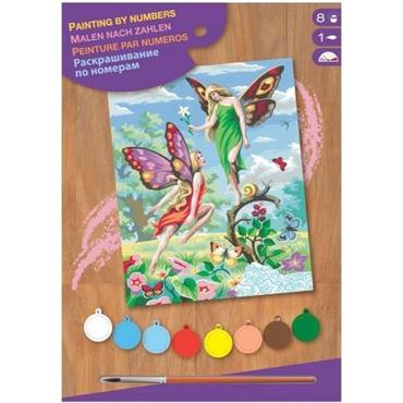 KSG Paint by Numbers Med - Fairies