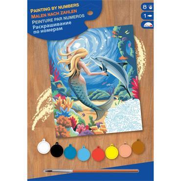 Mermaid  Paint By Numbers