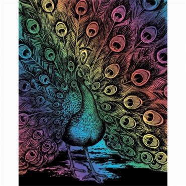 KSG Artfoil Rainbow peacock