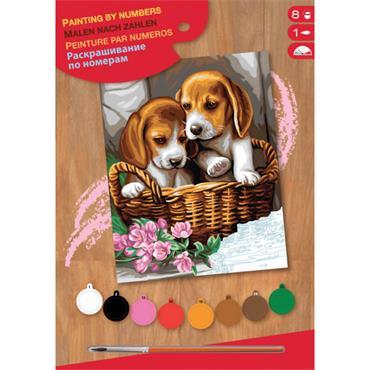 KSG PbN Med - Basket of Puppie