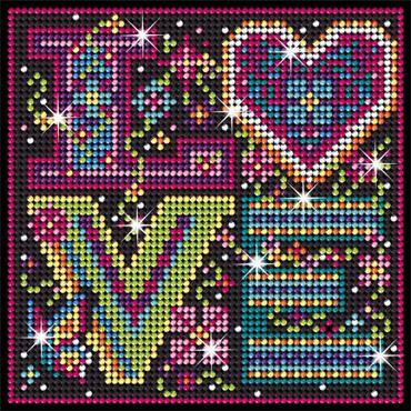 Love - Sequin Art Diamond Art