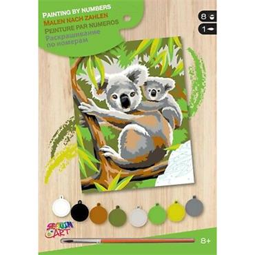 KSG Paint by Numbers Med - Koalas