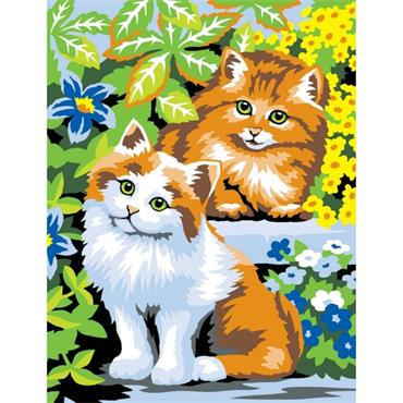 KSG Paint by Numbers Med - Kittens