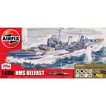 HMS BELFAST GIFT SET 1:600