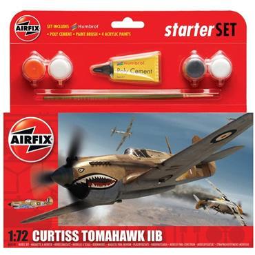 Starter Set - Curtiss Tomahawk IIB