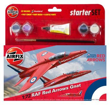 Starter Set - RAF Red Arrows Gnat