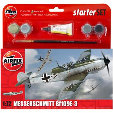 Starter Set - Messerschmitt Bf109E-3