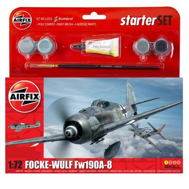 Starter Set - Focke Wulf FW190A-8