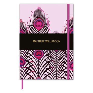 Deluxe Journals - Peacock Heart - Matthew W.