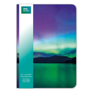 A5 Luxuary Notebooks - Northen Lights