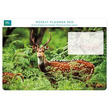 Weekly Planner Pads - A Chital Deer