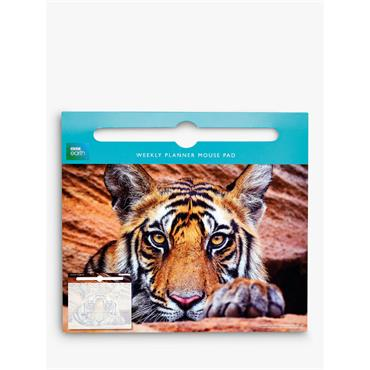 Weekly Planner Mouse Pads - Tiger