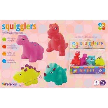 squigglers dino soft water squirters