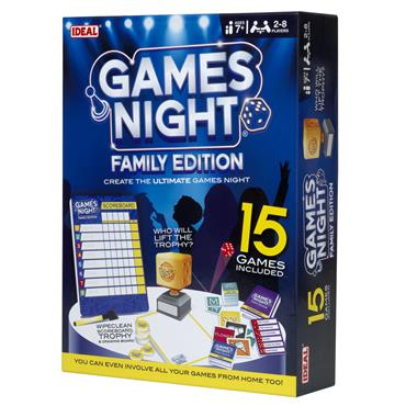 IDEAL GAMES NIGHT - FAMILY EDITION