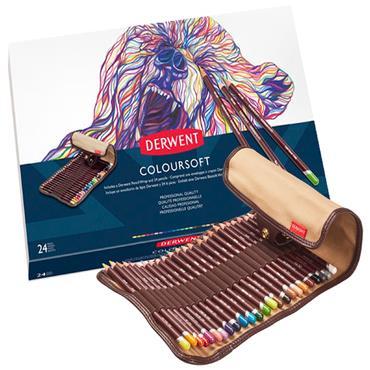 Pencil Wrap - Coloursoft 24 Set
