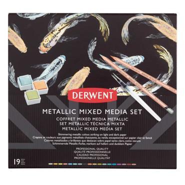 Metallic Mixed Media Set