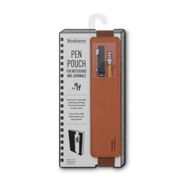 Bookaroo Pen Pouch - Brown