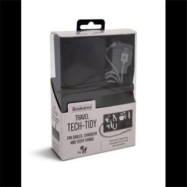 Bookaroo Travel Tech-Tidy - Black