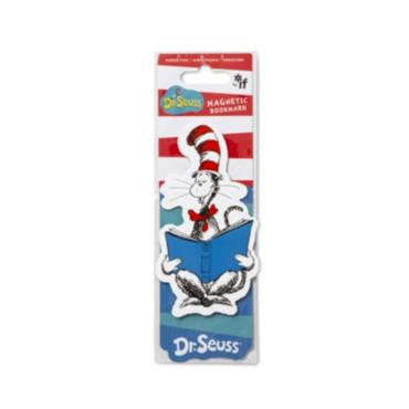 Dr. Seuss Magnetic Bookmarks - Cat in the Hat
