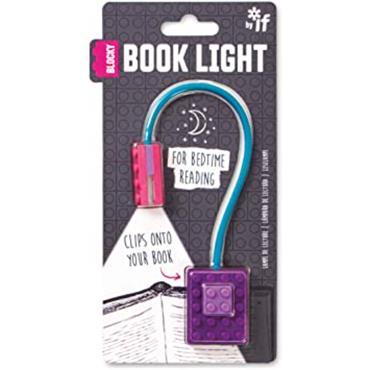 Blocky Book Light - Purple
