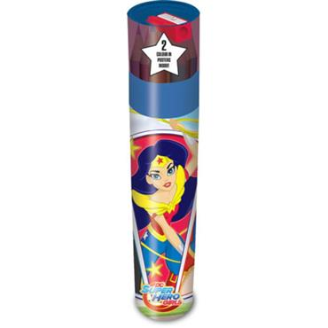DC SUPER HERO GIRLS PENCIL TUBE