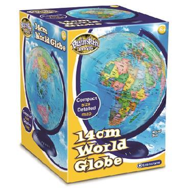 14cm World Globe