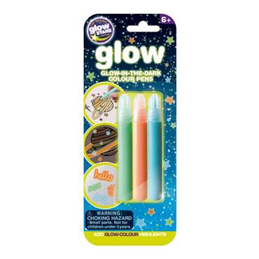 Glow in the dark Colour Pens