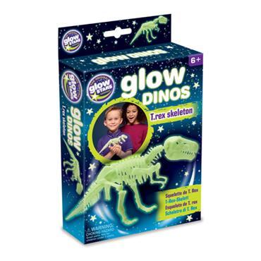 Glow Dinos T. rex Skeleton