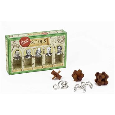 Great minds metal wooden puzzles