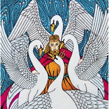 GREETING CARD - CHILDREN OF LIR