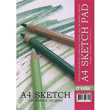 Create A4 Jumbo Sketch