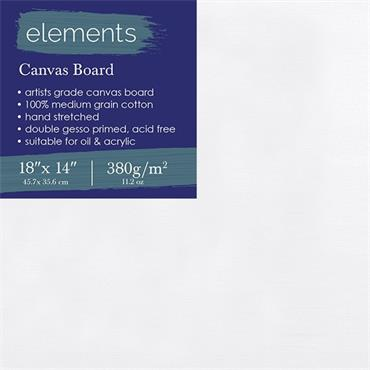 """elements Canvas Board 18"""" x 14"""" (45...."""