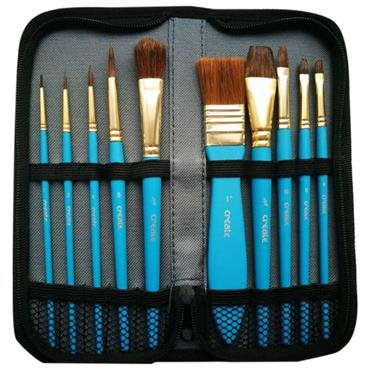 Create WC 10 Brush Wallet Case