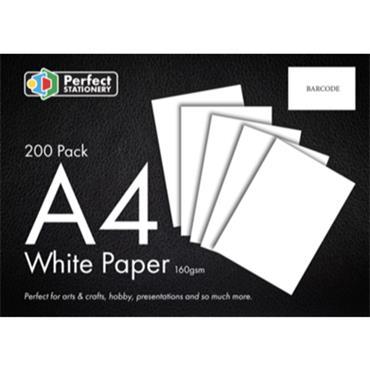 A4 160GSM 200 PK CARD WHITE