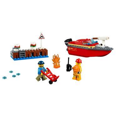 Lego - Dock Side Fire