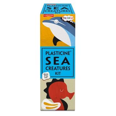 Plasticine Sea Creatures Model