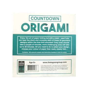 Countdown Origami