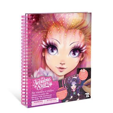 Nebulous Stars Creative Book-Zen Scratch & Sketch