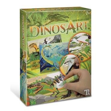 Dinos Art Sand & Foil Art